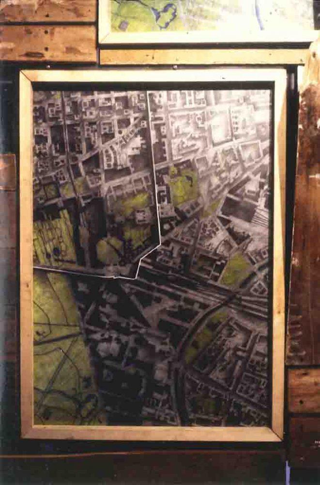 Diane Lafontaine | Potsdamerplatz : empreintes et fragments III